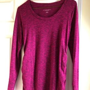Liz Lang maroon maternity sweater